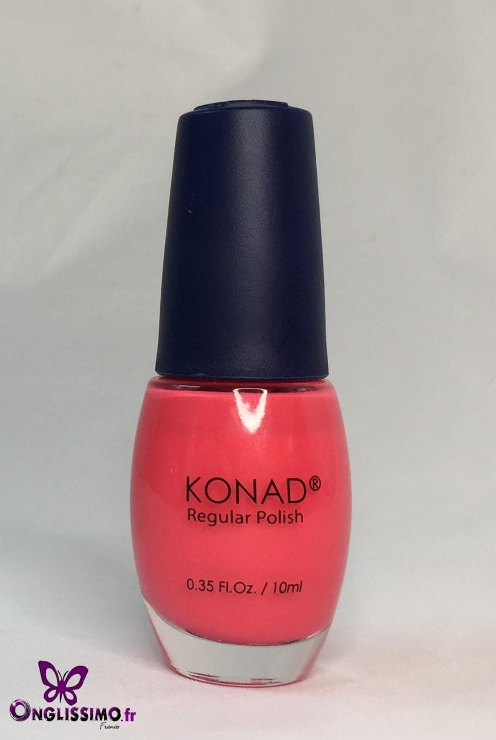 Vernis à ongles Konad N°27 solid POP pink 10 ml