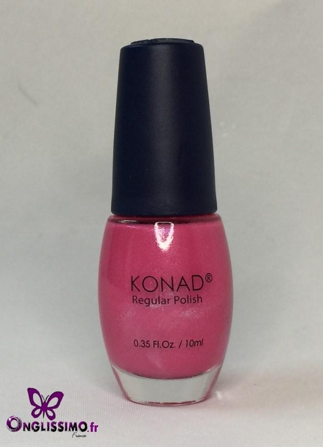 Vernis à ongles Konad N°04 shining pink pearl 10 ml