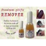 Remover Dissolvant gélifié pour vernis gel UV LED