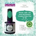 Vernis semi Permanent Vert Peter Pan ref96