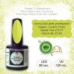 Vernis gel semi Permanent Vegan 109 Jaune fluo