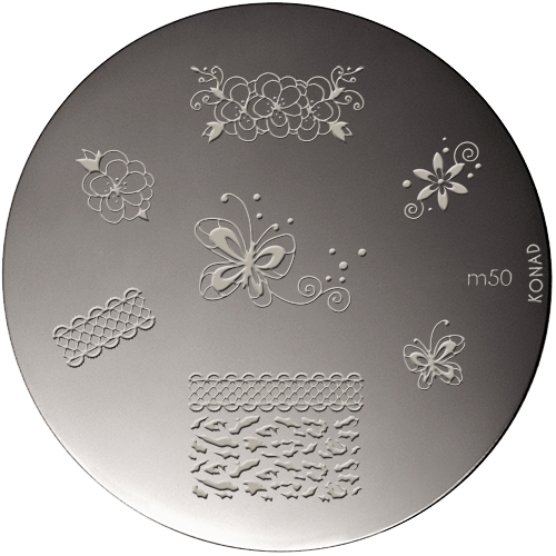 Plaque stamping Konad M50
