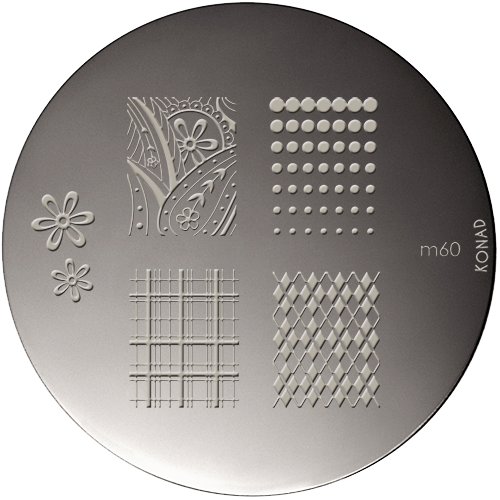 Stamping Plaque Konad M60