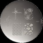 Plaque stamping Konad M61