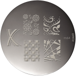 Stamping Plaque Konad M64