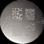 Plaque stamping Konad M65