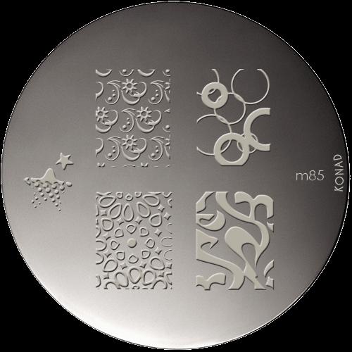 Nail art stamping Konad M85