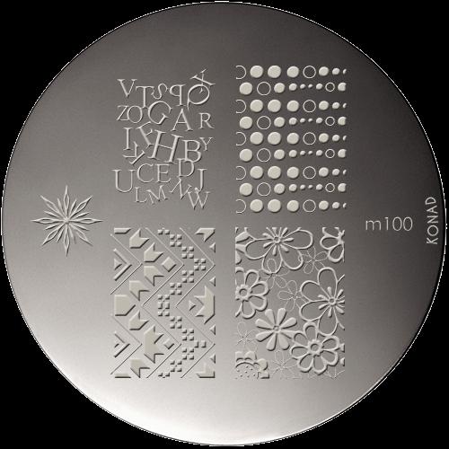 Stamping Plaque Konad M100