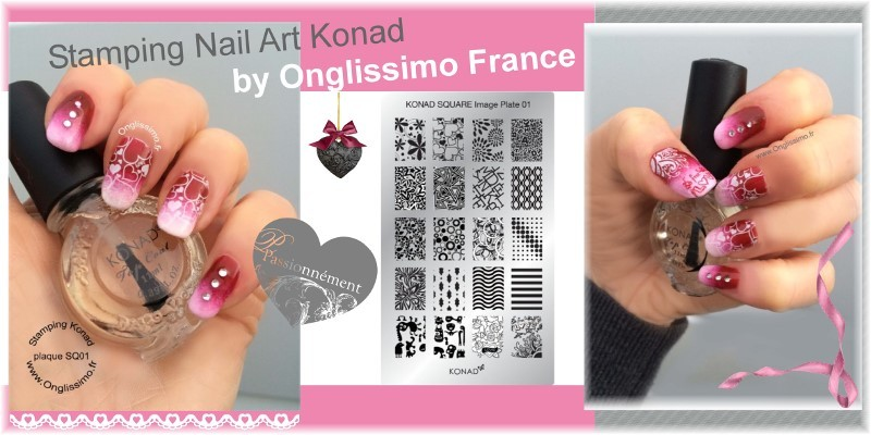 Stamping nail art Konad by Onglissimo France