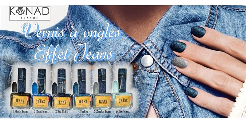 Vernis à ongles Effet Jeans